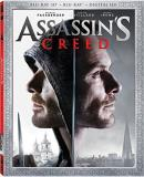 Assassin's Creed Fassbender Cotillard Irons 3d Blu Ray Dc Pg13