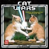Sellers Publishing Inc Cat Wars 2018 Wall Calendar