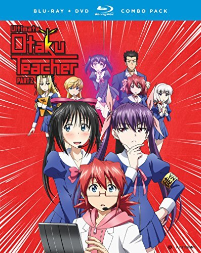 Ultimate Otaku Teacher Season 1 Part 2 Blu Ray DVD Ur
