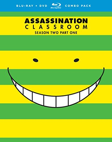 Assassination Classroom Season 2 Part 1 Blu Ray DVD