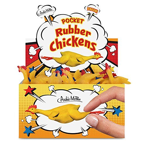 Toy Pocket Rubber Chicken