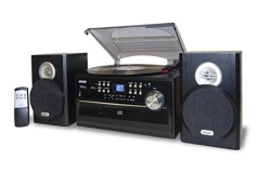 Jensen Jta 475 Turntable (cd Cassette Am Fm)
