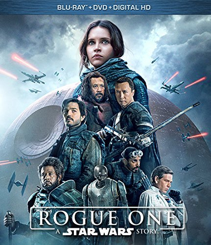 Star Wars Rogue One Jones Luna Tudyk Blu Ray DVD Dc Pg13