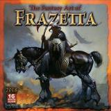 Frank Frazetta Fantasy Art Of Frazetta 2018 Wall Calendar