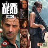 Amc The Amc Walking Dead 2018 Wall Calendar