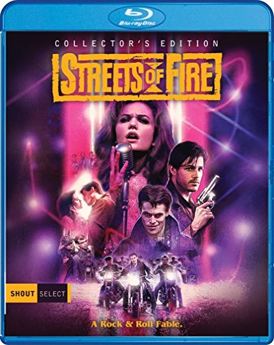 Streets Of Fire Pare Lane Moranis Dafoe Blu Ray R