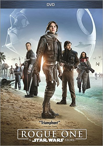 Star Wars Rogue One Jones Luna Tudyk DVD Pg13
