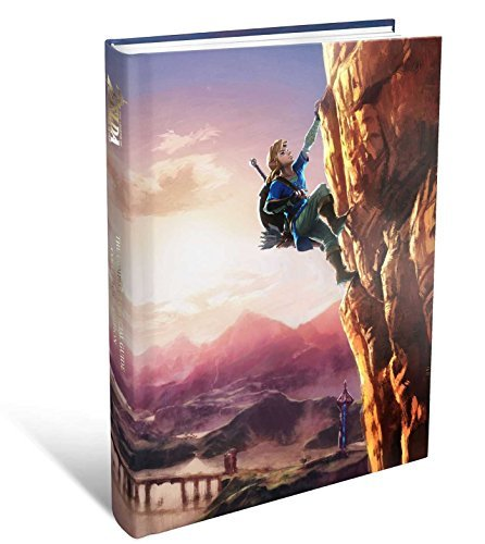 Legend Of Zelda Breath Of The Wild Complete Official Guide Collector's Edition