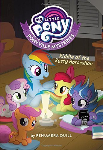 Penumbra Quill My Little Pony Ponyville Mysteries Riddle Of The Rusty Horsesho