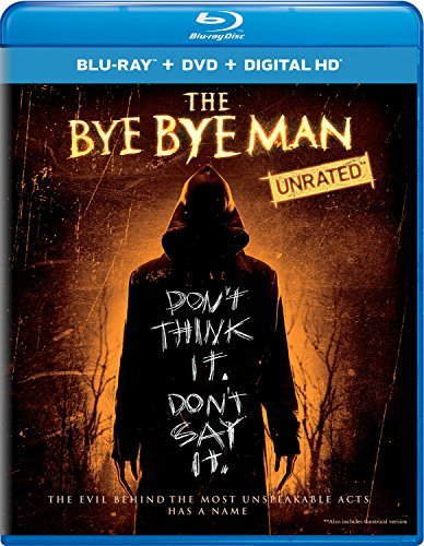 The Bye Bye Man Smith Laviscount Jones Blu Ray DVD Dc Pg13