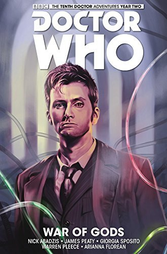 Nick Abadzis Doctor Who The Tenth Doctor Volume 7 War Of Gods
