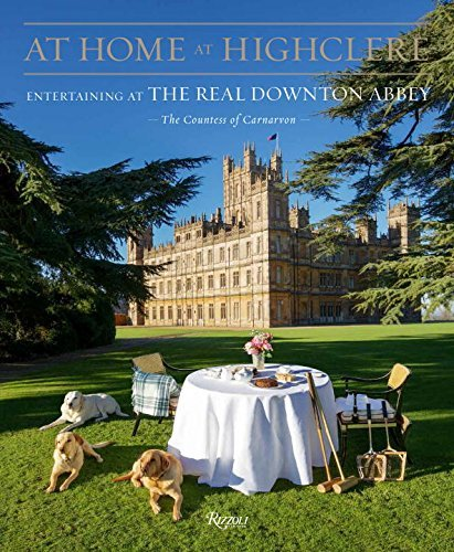 The Countess Of Carnavon At Home At Highclere Entertaining At The Real Downton Abbey