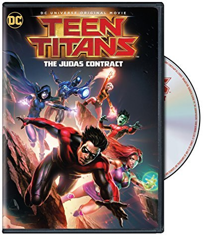 Teen Titans The Judas Contract DVD