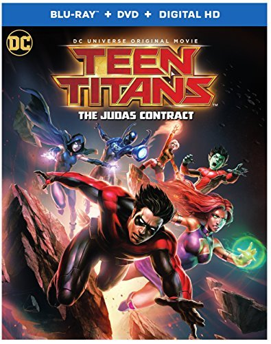 Teen Titans The Judas Contract Blu Ray DVD Dc