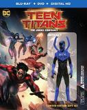 Teen Titans The Judas Contract Blu Ray DVD Dc Action Figure Deluxe Edition