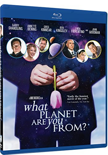 What Planet Are You From Shandling Bening Blu Ray R
