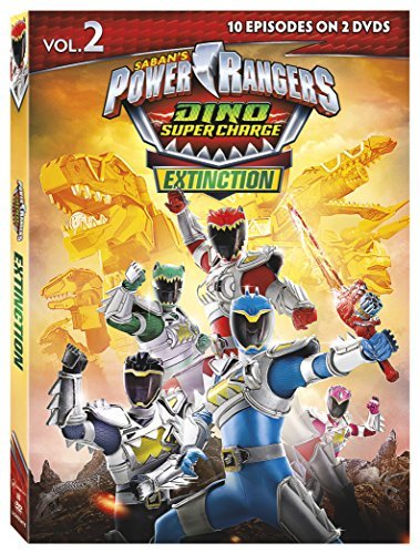 Power Rangers Dino Super Charge Extinction DVD