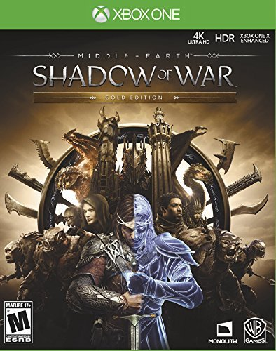 Xbox One Middle Earth Shadow Of War Gold Edition
