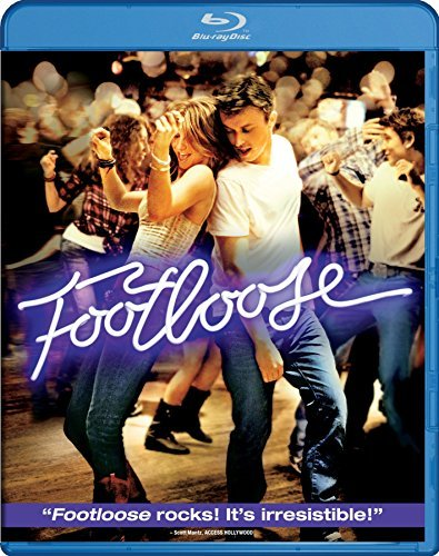 Footloose (2011) Wormald Hough Quaid Blu Ray Pg13