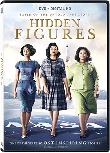 Hidden Figures Henson Spencer Monae DVD Pg