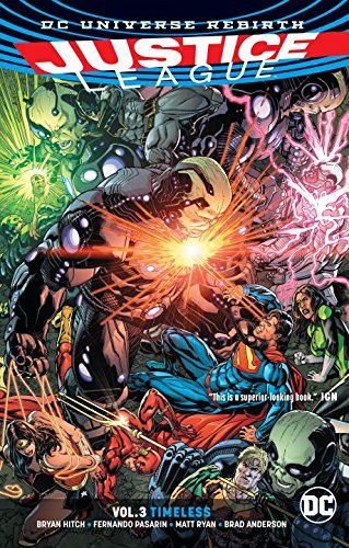 Bryan Hitch Justice League (rebirth) Volume 3