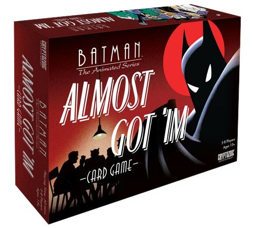 Board Game Batman The Animated Series Almost Got 'im