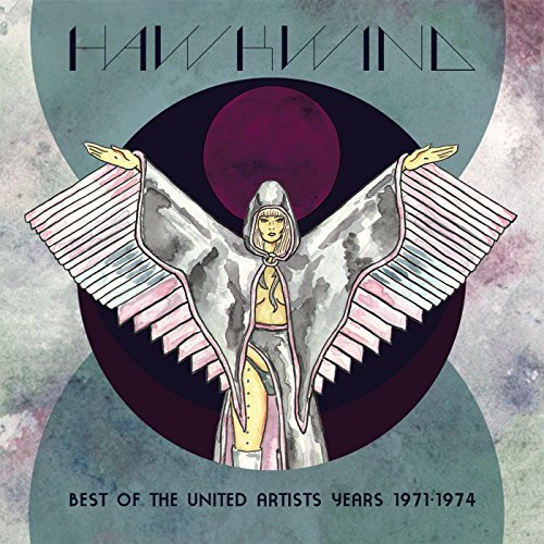 Hawkwind Best Of The United Artists Years 1971 1974 Swirl Color Vinyl Record Store Day Exclusive