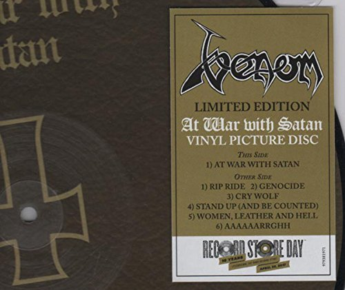 Venom At War With Satan Limited Edition Record Store Day Exclusive