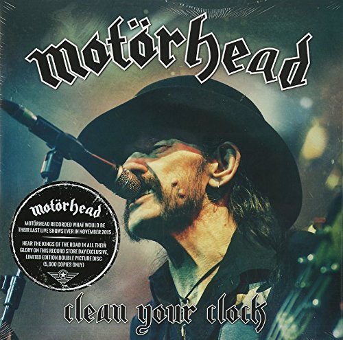 Motörhead Clean Your Clock 2lp Picture Disc Record Store Day Exclusive