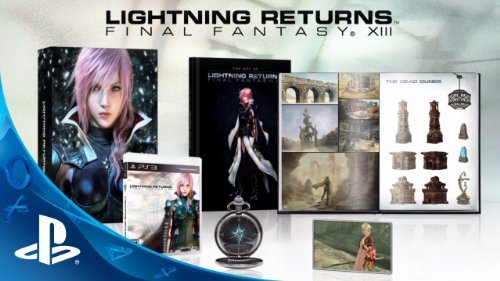 Ps3 Lightning Returns Final Fantasy Xiii Collector's Edition