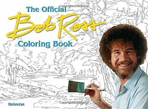 Bob Ross The Official Bob Ross Coloring Book