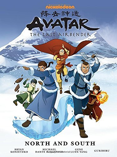 Gene Luen Yang Avatar The Last Airbender North And South Library Editi