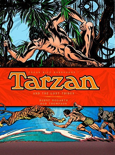 Burne Hogarth Tarzan And The Lost Tribes (vol. 4)