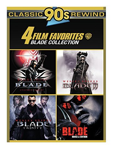 Blade 4 Film Collection DVD R