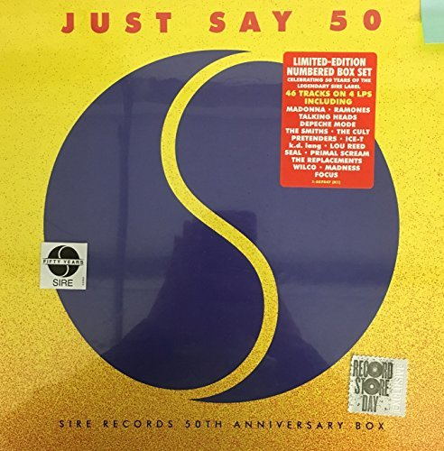 Just Say 50 Sire Records 50th Anniversary Vinyl Box Set 4lp Record Store Day Exclusive
