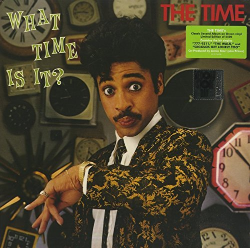 The Time What Time Is It? Green Vinyl Record Store Day Exclusive