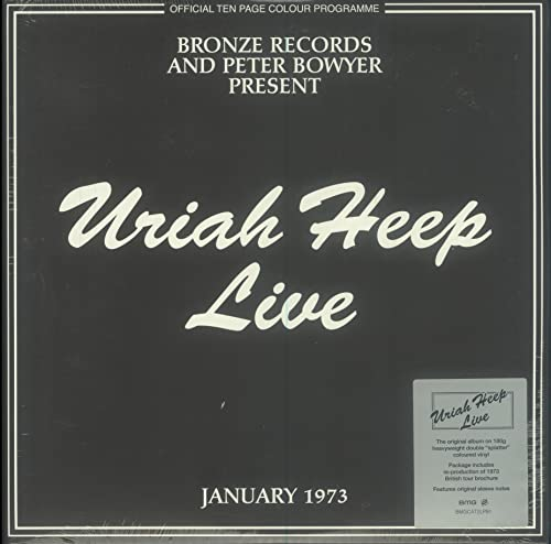 Uriah Heep Live 2 Lp Set Record Store Day Exclusive