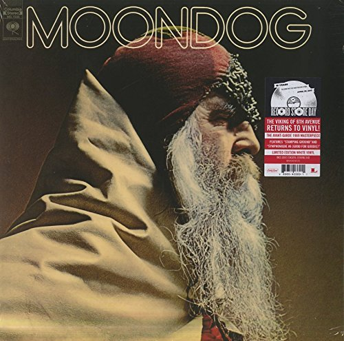 Moondog Moondog 150g Vinyl White Vinyl Includes Download Insert Quantity 3000
