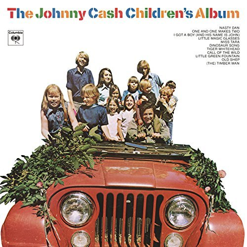 Johnny Cash The Johnny Cash Children's Album 150g Vinyl Quantity 3000