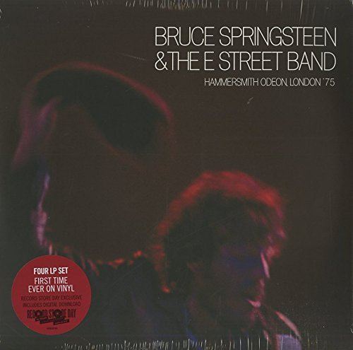 Bruce Springsteen Hammersmith Odeon London '75 4 Lp 150g Vinyl Numbered Quantity 3000