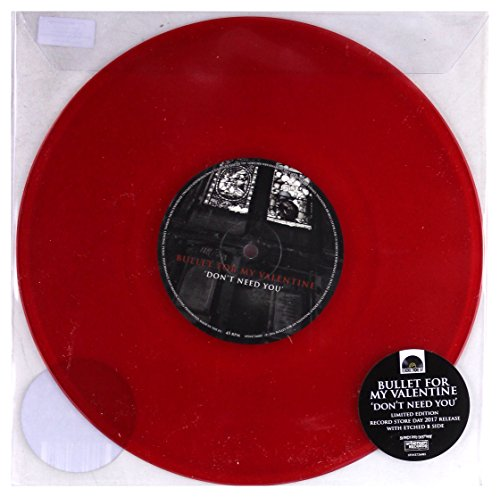 Bullet For My Valentine Don't Need You (red Translucent Vinyl)