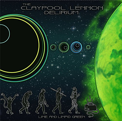 The Claypool Lennon Delirium Lime & Limpid Green (ultra Clear W Kelly Green & Spearmint Vinyl)