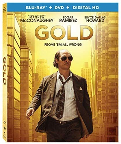 Gold Mcconaughey Ramirez Howard Blu Ray DVD Dc R