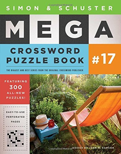 John M. Samson Simon & Schuster Mega Crossword Puzzle Book #17