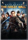 The Great Wall Damon Jing Dafoe DVD Pg13