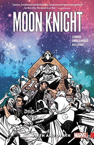 Jeff Lemire Moon Knight Vol. 3 Birth And Death