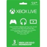 Xbox One Accessory Live 3 Month Card