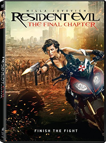 Resident Evil Final Chapter Jovovich Rose Larter DVD R