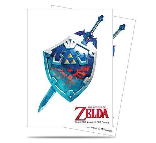 Card Sleeves Legend Of Zelda Sword & Shield