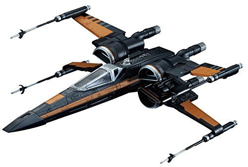 Model Kit Poe Dameron's X Wing Star Wars Force Awakens